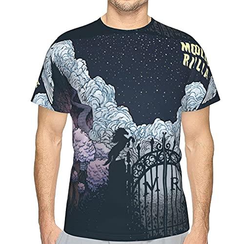 Mollo Rilla T Shirt Mens Short Sleeves Shirt Graphic Sports Tees Top