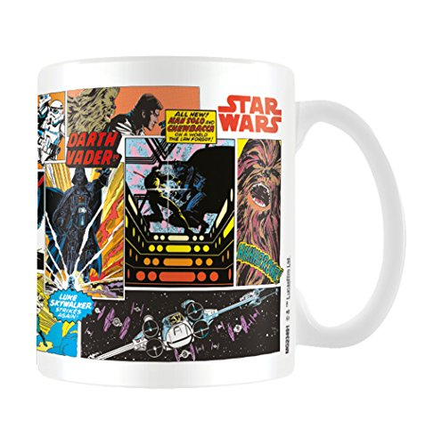 Star Wars MG23491 (Comic Panels) Mug, Céramique, Multicolore, 11oz/315ml