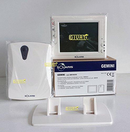 SOLARIS S.R.L. UEN108355 - GEMINI - CRONO. RF TX + FX GIORNALIERO/FUNZ