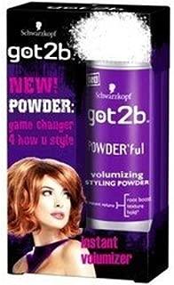 Got2b Powder'ful Volumizing Styling Powder, 0.35 Ounce by Got2b