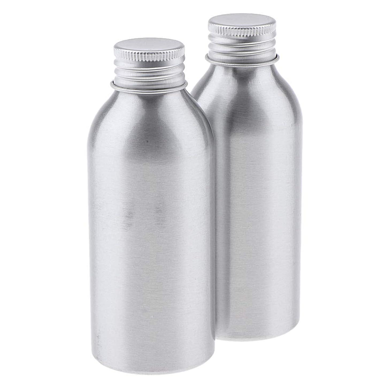 地上の巧みな銃T TOOYFUL アルミボトル 空ボトル 化粧品収納容器 ディスペンサーボトル 旅行 アウトドア 2本 全5サイズ - 120ml