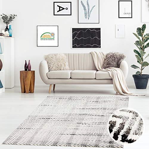 Cama bordeado plana flor vintage-Look 3 piezas de läuferset gris azul dormitorio