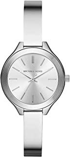 Michael Kors Womens Quartz Watch, Analog Display and Stainless Steel Strap MK3454