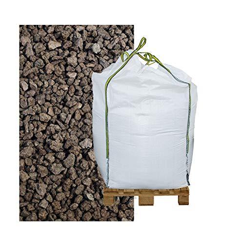 Lava Mulch rot 2-8 mm 1000 Liter