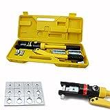 HG - Alicates hidráulicos de prensa, alicates, terminales de cable, crimpadora, hidráulicos, 10 hasta 300 mm2