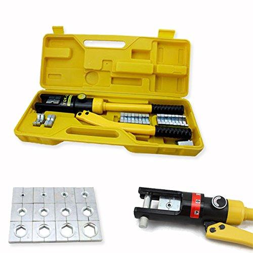HG® Hydraulische Zange Presszange Quetschzange Kabelschuhe Crimpzange Hydraulisch 10 bis 300 mm²
