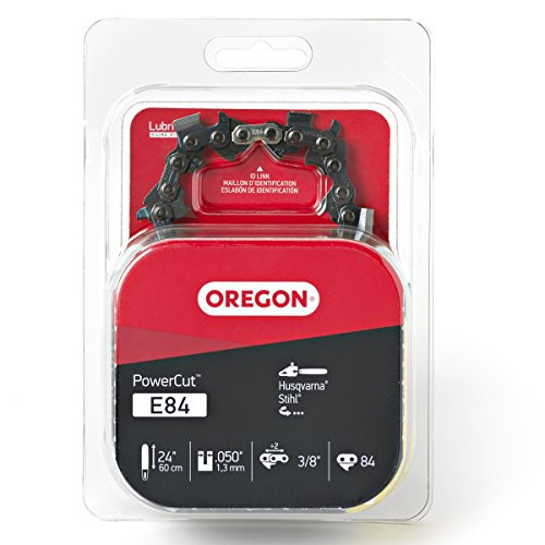 Oregon E84 PowerCut 24-Inch Chainsaw Chain, Fits Husqvarna, Stihl