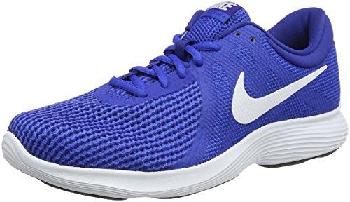 Nike Revolution 4, Scarpe da Trail Running Uomo, Blu (Game Royal/White/Deep Royal Blue/Black 400), 42.5 EU