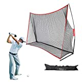Best Indoor Golf Practice Nets - Pinty Golf Net 10x7ft, Portable Golf Practice Hitting Review