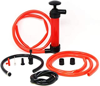 Lion Tools YTH007 Toolman 3 in 1 Multi-Use Hand Siphon Fuel Transfer Pump Kit with inflation adapters For Travel Emergency