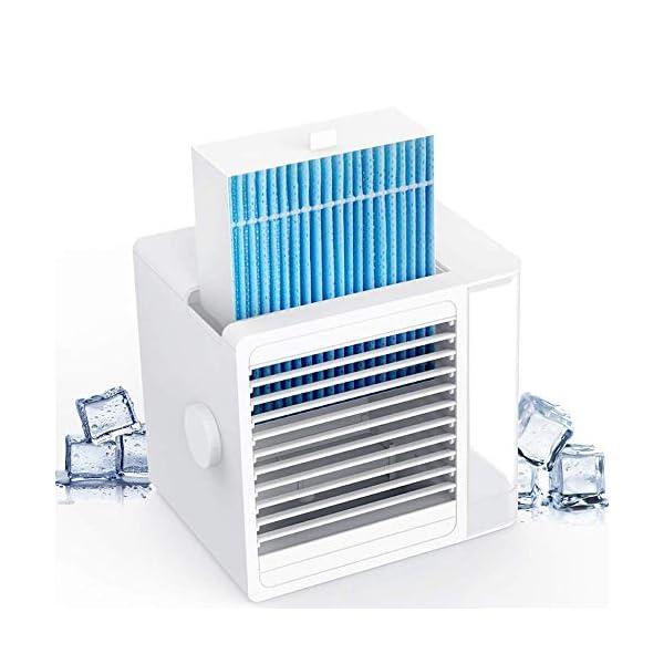 Brizer Glacier AC Portable Air Conditioner for Small Room- Indoor Personal Cooler,...