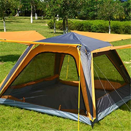 ZoSiP Tent Camp al Aire Libre De Espesor a Prueba de Lluvia Tienda al Aire Libre 3-4 Personas automático de Velocidad Campo Abierto Tienda de campaña 2 Colores Ligera Camping