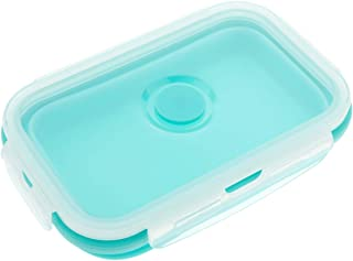 Beautymostar Exquisite Silicone Food Portable Lunch Bento Boxes Bowl Picnic Collapsible Storage Student for Home Decoration(None 3)
