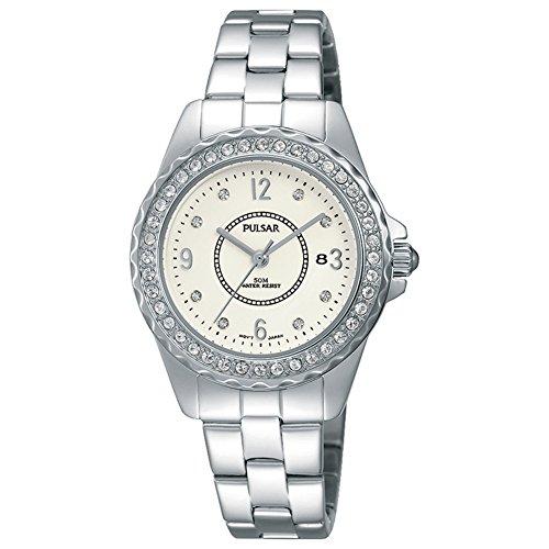 Pulsar Ladies Stainless Steel Bracelet Watch