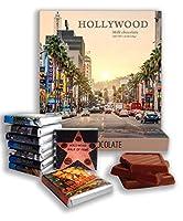 面白いハリウッドシティ料理の贈り物⌘「HOLLYWOOD」⌘ハリウッドのチョコレートセットが素敵! (夜明け)