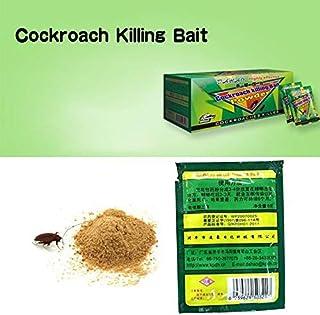1PCS Powerful Effective Cockroach Killing Bait Ants Bait Pest Control Cockroach Killer Repellent Powder D
