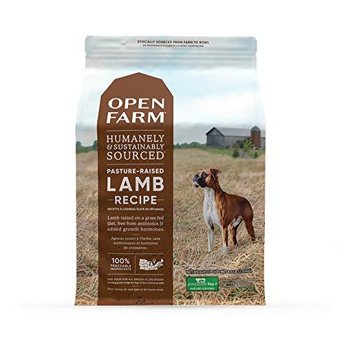 Open Farm Pasture-Raised Lamb Grain-Free Dry Dog Food, New Zealand...