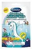 Bübchen Badespaß Magische Knister Welt, Knister- und Farben-Badegranulat mit gelbem Wasserfärbe-Effekt, für mehr Spaß im Bad, Menge: 1 x 50 g