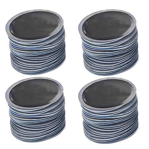 Nannigr Reparación De Neumáticos De Goma, 80 Piezas De Parche De Reparación De Neumáticos Portátiles para Montar Necesidades De Emergencia
