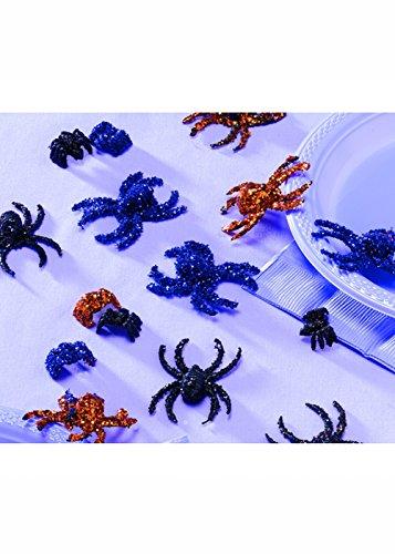 amscan Halloween Glitter Spider Table Sprinkles