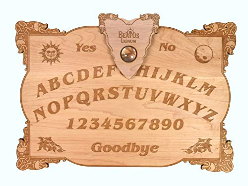 Beatus Lignum Celtic Ouija Board Real Maple 15 x 10.5 1/4 Thick. to Summon Spirits
