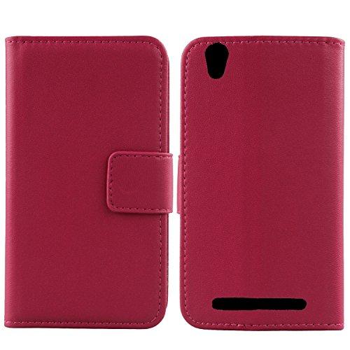 Gukas Design Echt Leder Tasche Für MEDION Life E4504 MD 99537 4.5