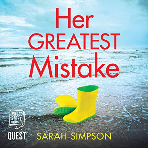 Her Greatest Mistake audiobook cover art
