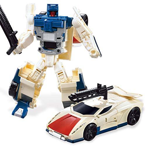 Siyushop Jouet Transformers, Man Auto Model, Heroes Rescue Bots, Jouets Deformed Car Les Enfants, Modèle De Robot De Combat, Enfants De 3 Ans Et Plus ( Color : 8 )