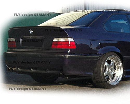 Car-Tuning24 54536634 wie Performance und M3 E36 COUPE Heckspoiler Spoilerlippe Spoiler Lippe Cosmosschwarz