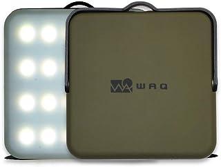 WAQ LEDランタン 暖色 電球色 昼光色 USB充電式 (1000ルーメン/10000mah/連続点灯24時間/PSE)
