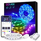 Govee Alexa LED Strip Lichtband, 5M RGB Smart WiFi LED...