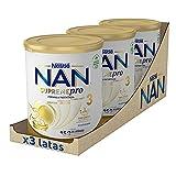 NAN SUPREMEpro 3 Leche De Crecimiento En Polvo Premium, 3 latas x 800 g