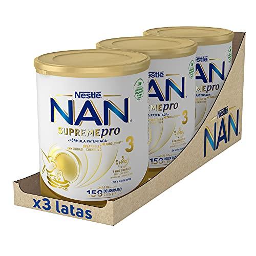 NAN SUPREMEpro 3 Leche De Crecimiento En Polvo Premium, 3...
