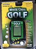 Radica World Class Golf Lcd Interactive Electronic Hand-held Game Model#3730 Cs7ba P/n 50811400 Rev.a L (Radica Electronic Golf Game) with Buttons of On-stroke, Game, Course, Club, Mulligan, Score, Sound & Reset