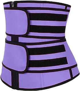 MUZBOO Moda que forma la correa fuerte Shapewear Postparto Yoga Deportes Ajuste Cinturón abdominal
