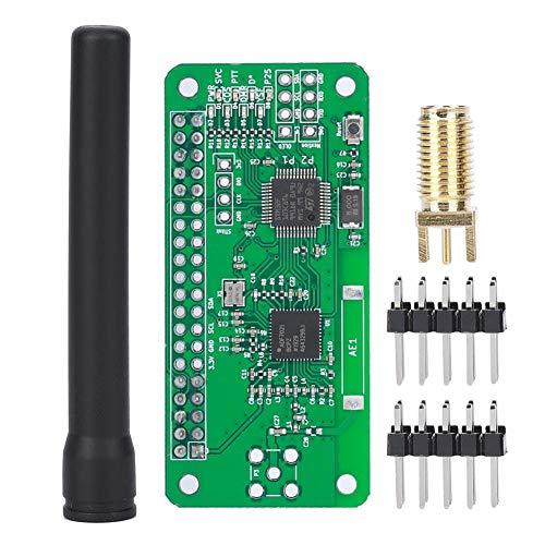Mini-MMDVM-Hotspot-Radiosender + Antenne, Unterstützung P25 DMR YSF D-Star-UHF-Erweiterungskarte, digitales WiFi-Sprachmodem Geeignet für Himbeeren