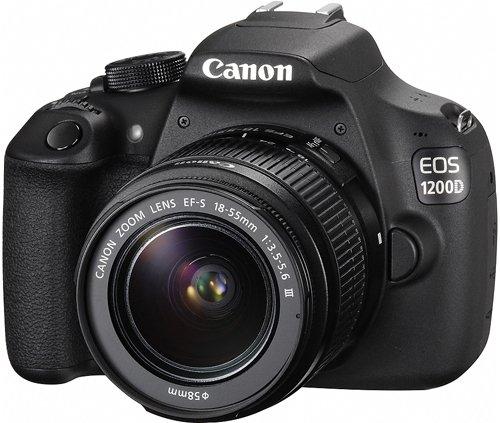 Fotocamera Canon EOS 1200D + EF-S 18-55mm DC III [9127B031]