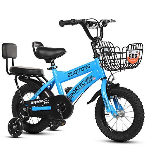 WGXQY kindermountainbike, 12/14/16 inch fiets, 6-7-8-9-10 jaar oude jongens en meisjes fiets