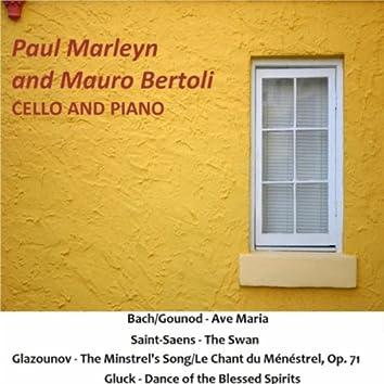 J.S. Bach - C. Gounod: Ave Maria - C. Saint-Saens: The Swan - A. Glazounov: The Minstrel's Song / Le Chant Du Ménéstrel, Op. 71 -  C.W. Gluck: Dance of the Blessed Spirits
