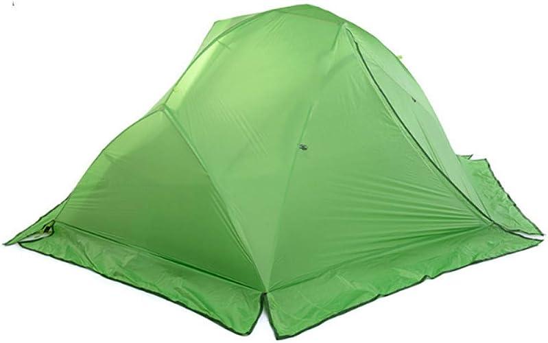 ZHJLOP Tente 2 Personnes Double Couche Tente extérieure Tente Quatre Saisons imperméable à la Pluie Camping Tente d'escalade