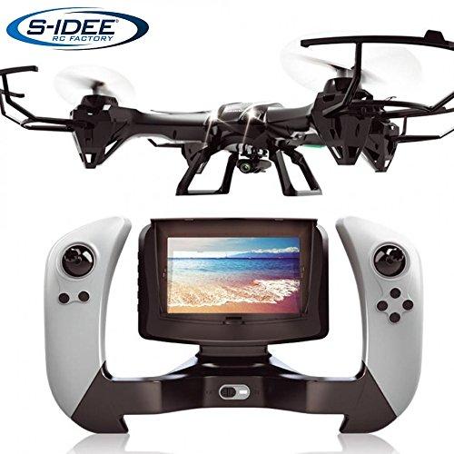 s-idee 01608 Quadrocopter UDI U842-1 FPV 5.8 GHz Übertragung HD Kamera...