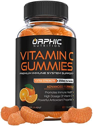 Vitamin C Gummies for Daily Immune Support Extra Strength 250mg Vitamin C Supplement with Antioxidants product image