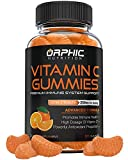 Vitamin C Gummies for Daily Immune Support - Extra Strength 250mg Vitamin C Supplement with Antioxidants for Adults & Kids -​ Immune System Booste​r - 60 Gummies