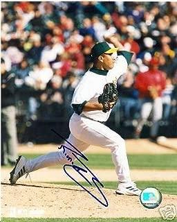 Ricardo Rincon Oakland A's Signed 8x10 Photo W/coa - Autographed MLB Photos