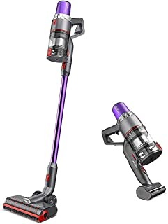 JASHEN V16 Cordless Vacuum Cleaner, 350W Strong Suction Stick Vacuum Ultra-Quiet Handheld Cordless Vacuum Wall Mounted Dua...