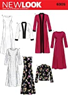 New Look Sewing Pattern 6305 Misses Dresses, Size A (10-12-14-16-18-20-22) by Simplicity Creative Group Inc - Patterns