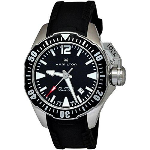 Hamilton Khaki Navy Frogman Automatic Men's Watch H77605335