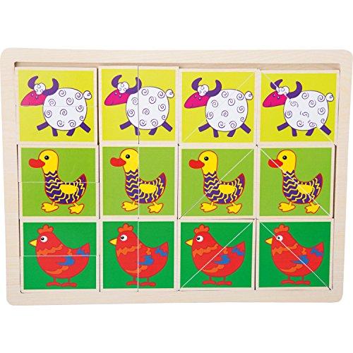 Legler - Jouets de construction et puzzle - Puzzle Animaux rigolos