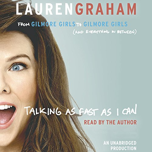 Talking as Fast as I Can audiobook cover art