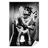 Postereck - 0423 - Party Girl, Schwarz Weiss Alkohol